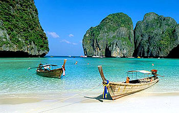 Prachtige Thaise stranden1 thailand nog steeds mateloos populair bij toeristen