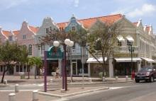 oranjestad centrum Aruba krijgt tram