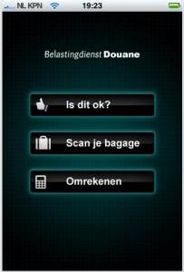 douane 203x300 douane brengt mobiele applicatie voor reizigers uit