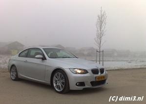 335i in sneeuw Duitsland: dubbele boetes voor rijden zonder winterbanden