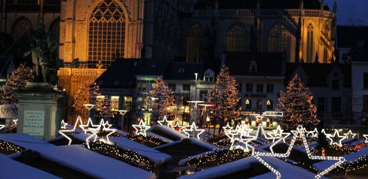 Kerstmaand in Antwerpen