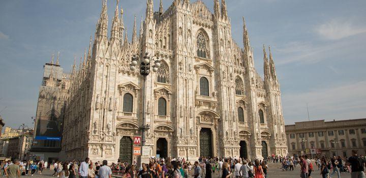Dom van Milaan erg populair
