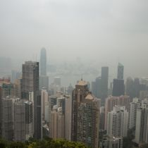 Januari warm en bewolkt in Hong Kong