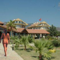 Naakthotel in Turkije