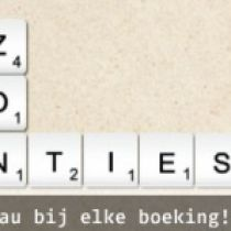 Gratis reiseditie Scrabble bij Hotelplan