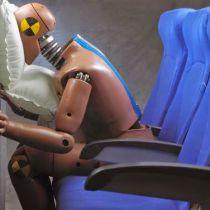 Airbag in vliegtuigstoelen