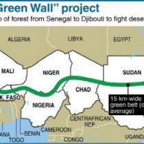 Groene muur voor Afrika
