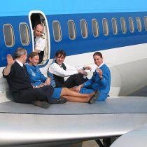 Homo stewards van KLM willen niet naar Iran