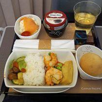 Smaken vervagen in het vliegtuig