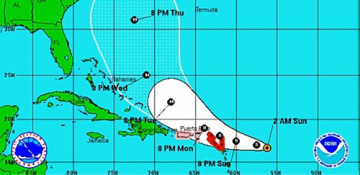 Orkaandreiging Antillen