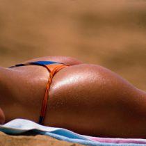 Topless op het strand