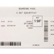 Zorg voor juiste naam op vliegticket