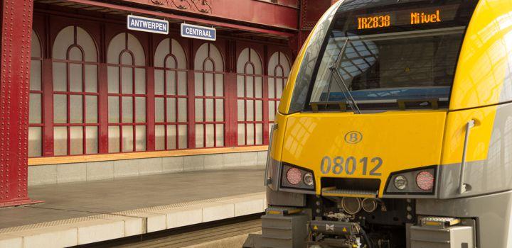 Morgen geen treinen door België