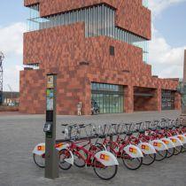 Antwerpen start fietsproject