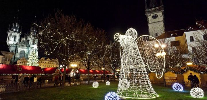 Kerstmarkten Praag 2014