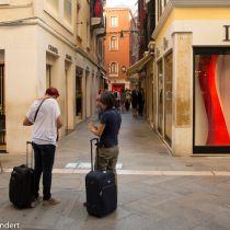Venetië: 500 euro boete voor gebruik rolkoffers
