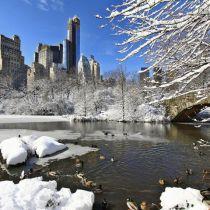 Verwachtte sneeuwstorm New York blijft uit