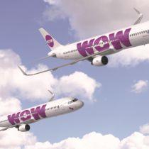 WOW Air schaft twee nieuwe Airbus A321's aan