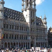 Stadhuis van Brussel open voor het publiek