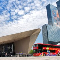 City Sightseeing nu ook in Rotterdam