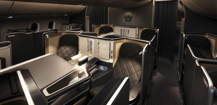 Nieuwe First Class bij British Airways