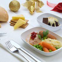 Emirates: Kerstmenu aan boord in december