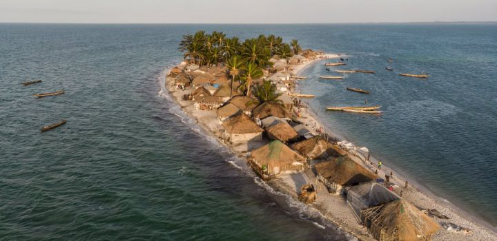Columbus Travel zet als eerste reismagazine voet op de Turtle Islands