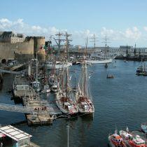 Directe vlucht naar het westen van Bretagne