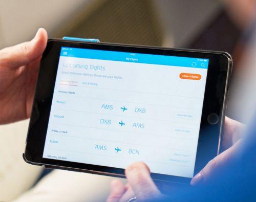 KLM introduceert wifi op Europese vluchten